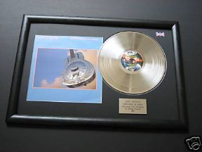 DIRE STRAITS - Brothers In Arms PLATINUM LP & Cover Presentation DISC